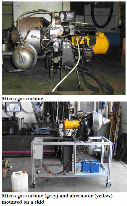 Micro Gas Turbines Modified by UFL